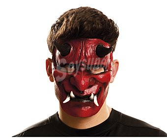 MY OTHER ME Complemento para disfraz Halloween, máscara de Demonio Máscara Diablo