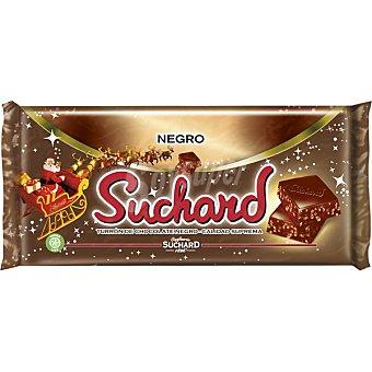 Suchard Turrón de chocolate crujiente negro Tableta 260 g