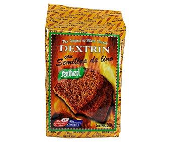 Santiveri Pan integral con lino, Dextrin 300 g