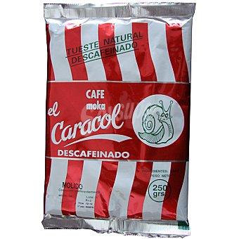 El Caracol Café molido descafeinado 250 g