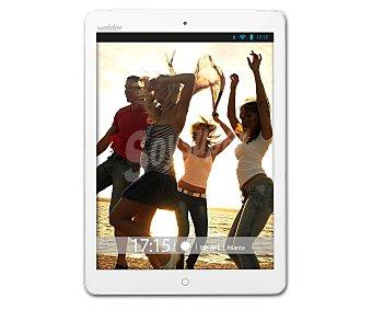 WOLDER ATLANTA Tablets con pantalla de 9,7'' Procesador: Quad Core 1.5Ghz, almacenamiento: 8GB ampliable con microsd, resolución: IPS 1024 x 768 px, cámara frontal, Android 4.4