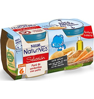 Naturnes Nestlé Tarrito verduras-pollo 2 x 200 g