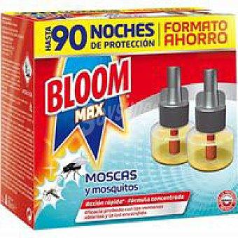 Bloom Insecitida eléctrico Max líquido 2 unid