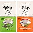 Nectarán té verde + té rooibos con vainilla envases 25 bolsitas  Silver inf