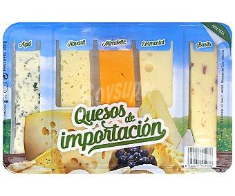 Tgt Surtido de quesos de importación Blister 250 g