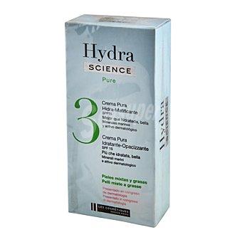 Les Cosmétiques Crema facial día resfrescante para piel grasa 50 ml.