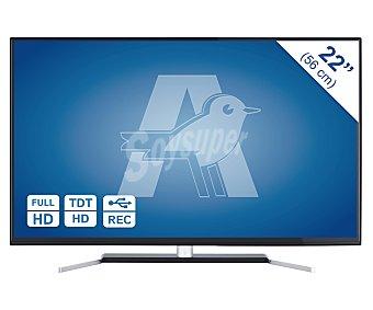 """SELECLINE 22284 Tv 22"""" led full HD, TDT HD, USB reproductor y grabador, hdmi 1 unidad"""
