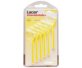 Lacer Cepillo interdental fino y prensado de 0.7 mm 6 uds