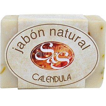 S&S Pastilla de jabón natural de Caléndula Pastilla 100 g
