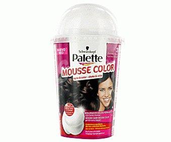 Palette Schwarzkopf Tinte Castaño Oscuro Nº3 Mousse Color 1 Unidad