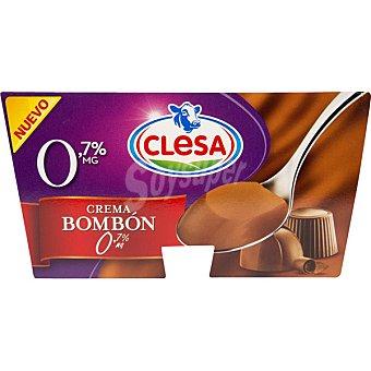 CLESA Yogurt Clesa Crema Bombón 0% 125GR