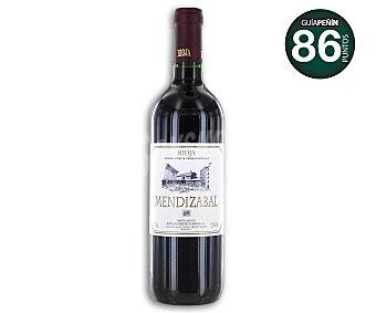 Mendizabal Vino tinto joven con denominación de origen Rioja botella de 75 centilitros
