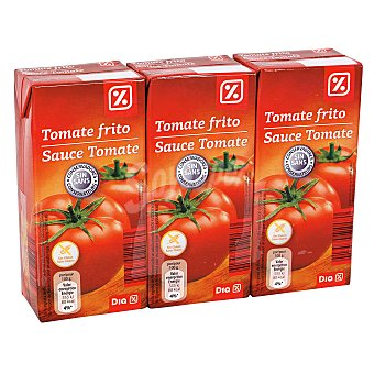 DIA Tomate frito Pack 3 unidades 390 gr