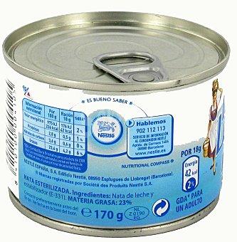 La Lechera Nestlé Nata para Cocinar Esterilizada 170 Gramos