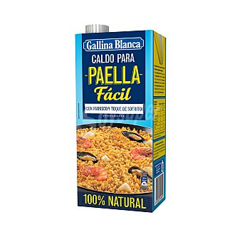 Gallina Blanca Caldo de Paella 100 % Natural Brik 1 l