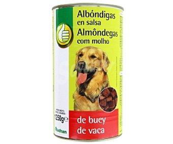 Productos Económicos Alcampo Comida Húmeda para Perro Albóndigas Buey 1230 gramos