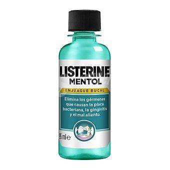 Listerine Enjuague bucal mentol 95 ml