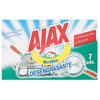 Ajax Estropajo jabonoso 7 uds