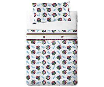 Pjmasks Juego de sábanas de 3 piezas 50% algodón con estampado infantil PJ MASKS.