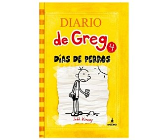 INFANTIL JUVENIL Diario de Greg 4: Días de Perros, jeff kinney, género: infantil, editorial: Molino. Descuento ya incluido en pvp. PVP anterior: 4: Días.