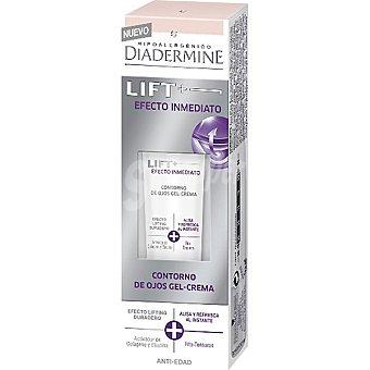 Diadermine Lift + efecto inmediato contorno de ojos gel-crema efecto lifting duradero + alisa y refresca al instante Tarro 15 ml