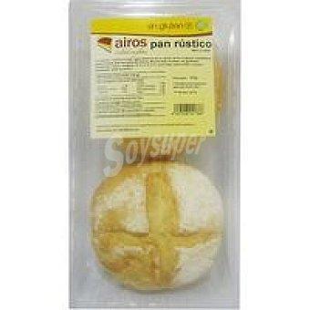 Airos Pan redondo rústico sin gluten Paquete 200 g