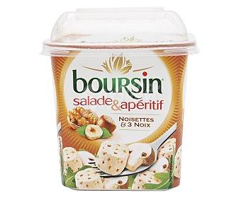 Boursin Queso blanco con avellanas y nueces 120 g