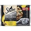 Alimento húmedo gato Craf Collections Pack 4 x 85 g Sheba