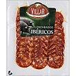 Chorizo ibérico en lonchas Envase 100 g Villar