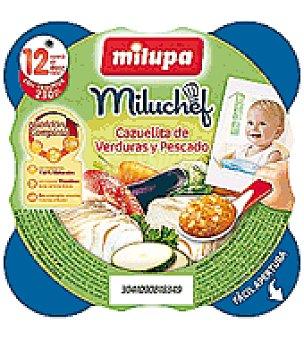 Milupa Platito Cazuelita de verduras y pescado 230 g