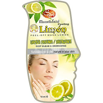 Sys Mascarilla facial peeling limón limpieza profunda & revitalizante Envase 10 ml