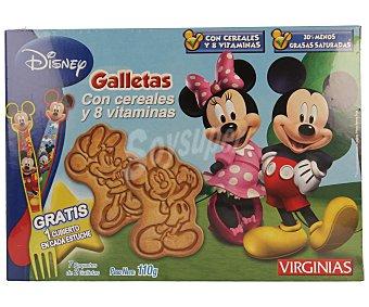 Virginias Galletas Disney con cereales 110 g