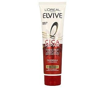 Elvive L'Oréal Paris Bálsamo reconstituyente con calendula y ceramidas, para cabellos dañados cica repair 150 ml
