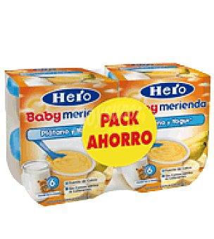 Hero Baby Tarrito plátano y yogur Merienda