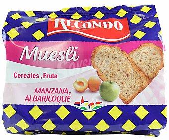 RECONDO Pan tostado muesli 180 Gramos