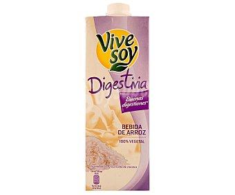 Vivesoy Bebida de arroz 100% vegetal Digestiva Envase de 1 l