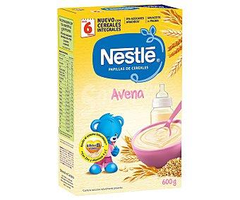 Nestlé Papilla de avena integral a partir de 6 meses Paquete 600 g