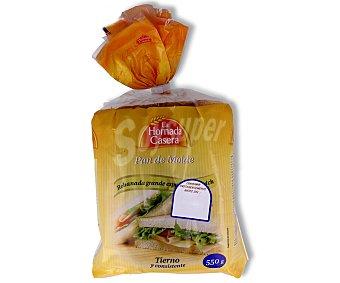 bella easo pan de molde blanco / integral 600 gr