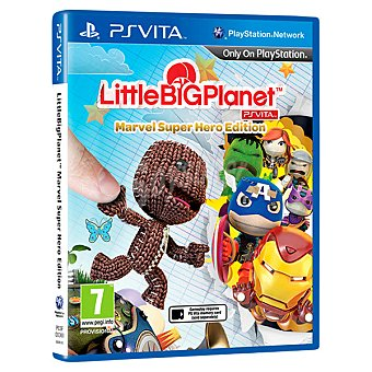 PS VITA Videojuego littlebigplanet Marvel Super Hero Edition  1 unidad