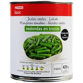 Eroski Basic Judía fina Lata 420 g