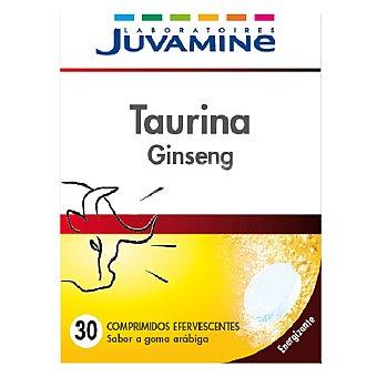 Juvamine Taurina ginseng en comprimidos efervescentes 30 ud