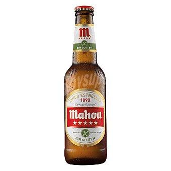 Mahou Cerveza sin gluten Botella de 33 cl