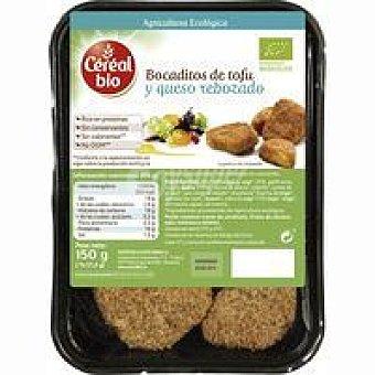 DE TOFU Bocaditos -queso rebozados gerblé BIO Bandeja 150 g