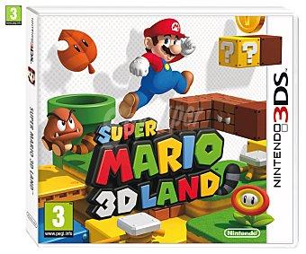PLATAFORMAS Videojuego Super Mario Land para Nintendo 3DS, 3DSXL. Género: / Aventura. Recomendación por edad pegi: +3 - 1 Unidad