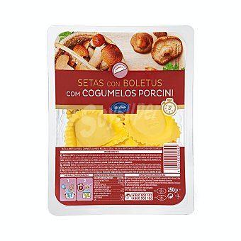 Bel Canto Pasta fresca medialunas de setas con boletus Tarrina 250 g