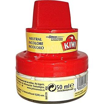KIWI Limpia calzado crema incoloro con aplicador  tarro 50 ml