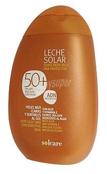 Solcare Protector solar corporal F50+ (leche) Botella 250 cc