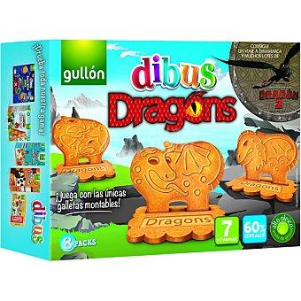 Gullón Dibus Dragons galletas montables estuche 300 g Estuche 300 g