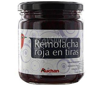 Auchan Remolacha roja extra en tiras 210 gramos