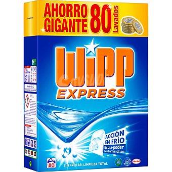Wipp Express Detergente máquina polvo cápsulas quitamanchas maleta  80 cacitos